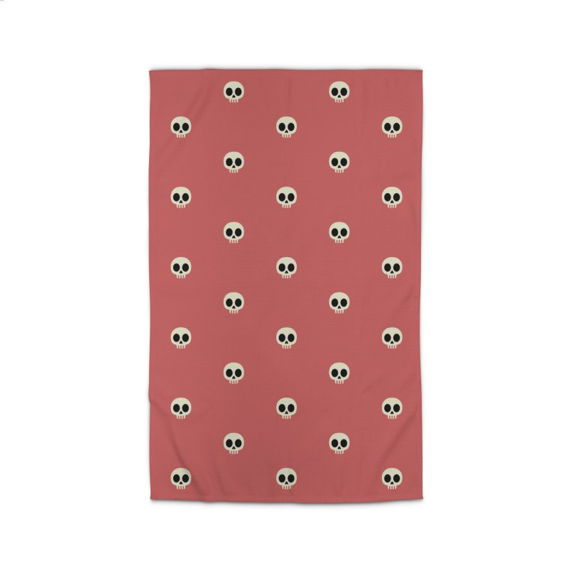 Skull Motif Pattern Home Rug by Mr Loco Motif