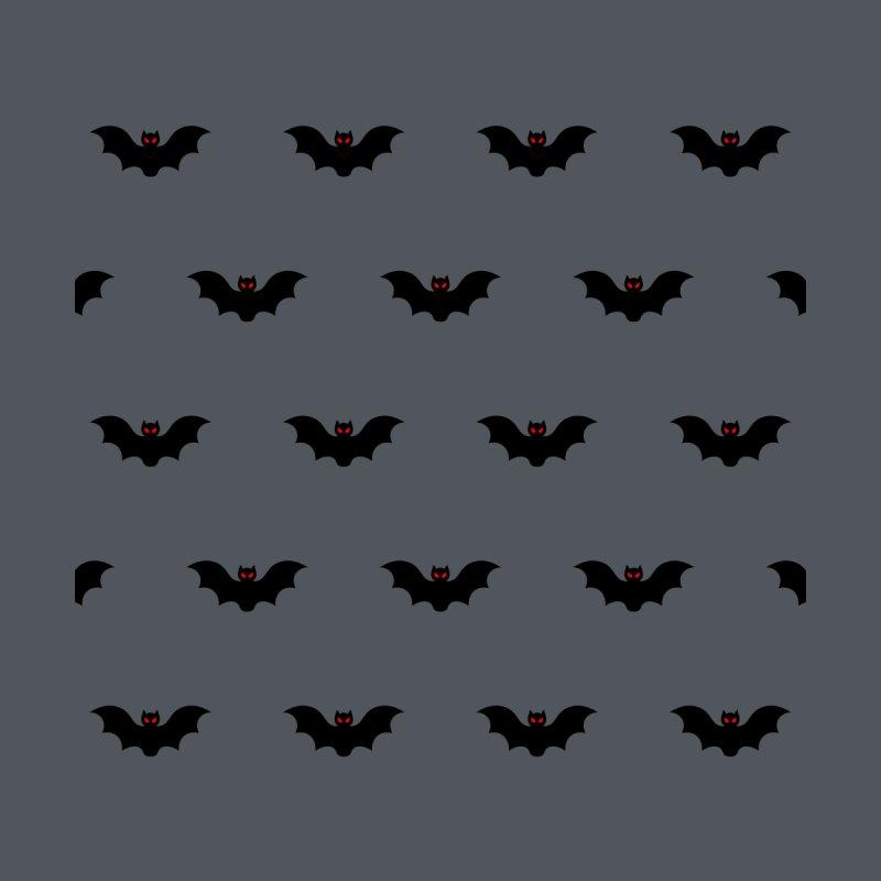Bat Motif Pattern Accessories Beach Towel by Mr Loco Motif