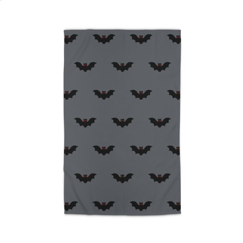 Bat Motif Pattern Home Rug by Mr Loco Motif