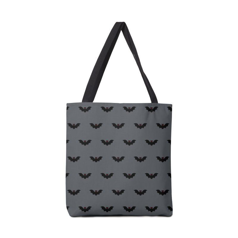 Bat Motif Pattern Accessories Bag by Mr Loco Motif