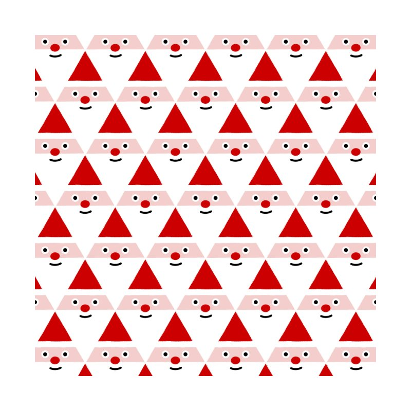 Santa Pattern Accessories Beach Towel by Mr Loco Motif