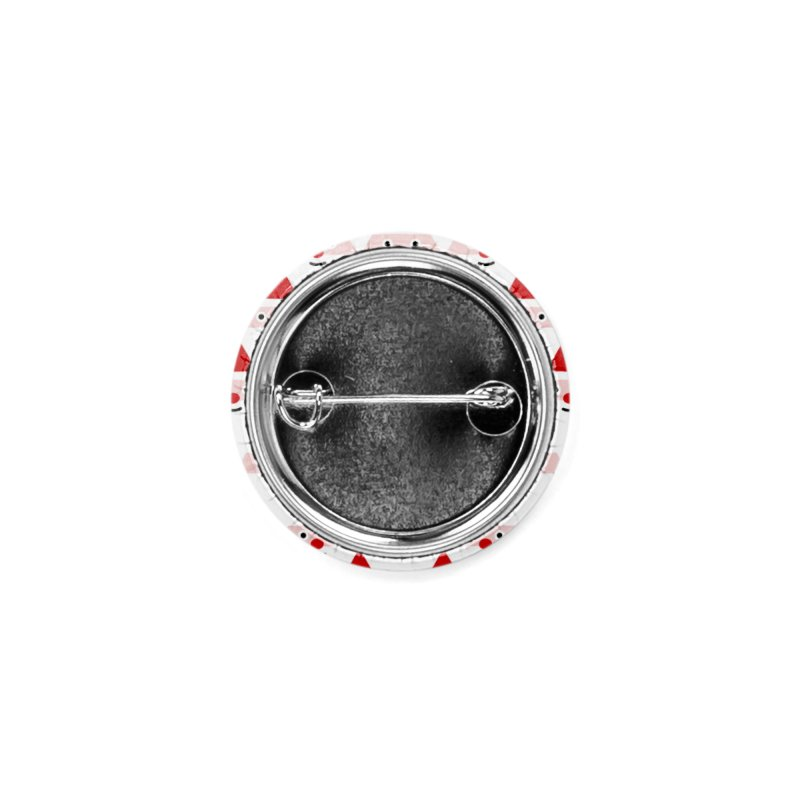 Santa Pattern Accessories Button by Mr Loco Motif