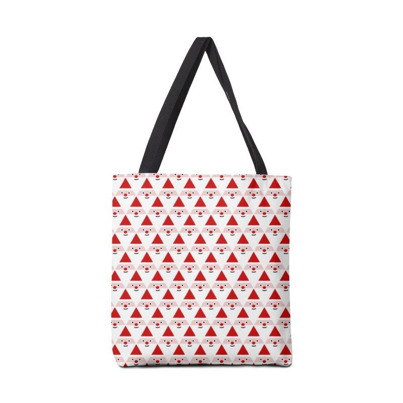 Santa Pattern Accessories Bag by Mr Loco Motif
