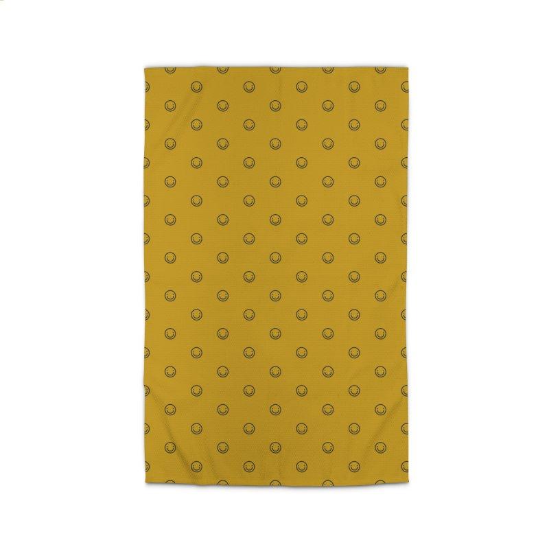 Smile Motif Pattern Home Rug by Mr Loco Motif - Artist Shop
