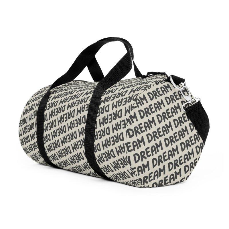 Dream Motif Pattern Accessories Duffel Bag Bag by Mr Loco Motif - Artist Shop