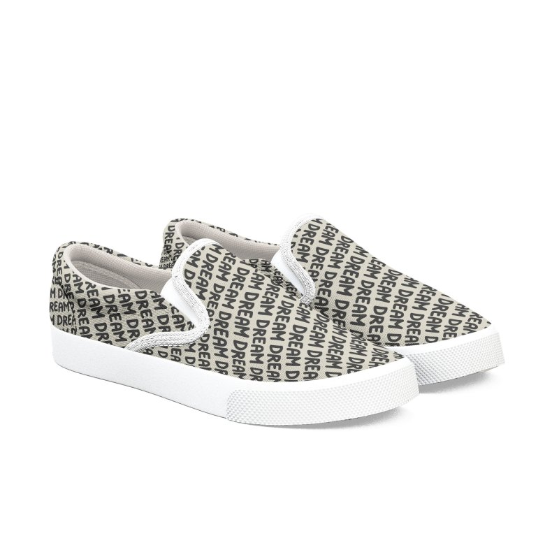 Dream Motif Pattern Men's Slip-On Shoes by Mr Loco Motif - Artist Shop