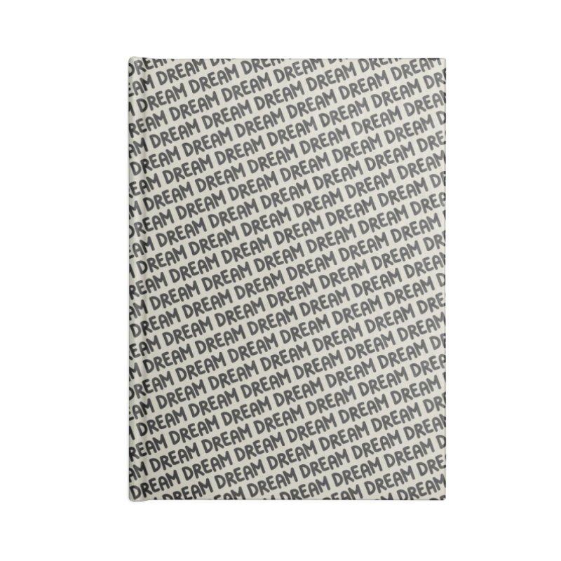 Dream Motif Pattern Accessories Lined Journal Notebook by Mr Loco Motif - Artist Shop