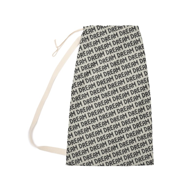Dream Motif Pattern Accessories Laundry Bag Bag by Mr Loco Motif - Artist Shop