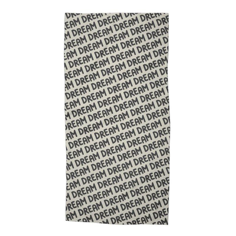 Dream Motif Pattern Accessories Beach Towel by Mr Loco Motif - Artist Shop
