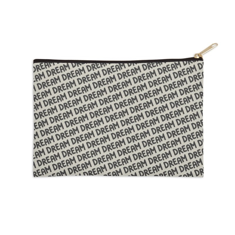 Dream Motif Pattern Accessories Zip Pouch by Mr Loco Motif - Artist Shop