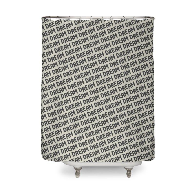 Dream Motif Pattern Home Shower Curtain by Mr Loco Motif - Artist Shop