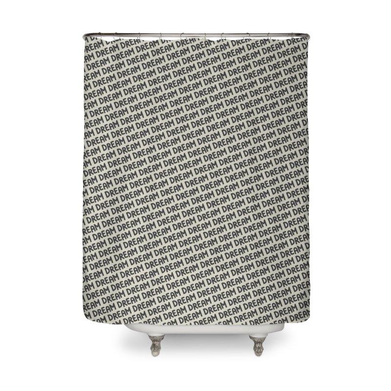 Dream Motif Pattern Home Shower Curtain by Mr Loco Motif