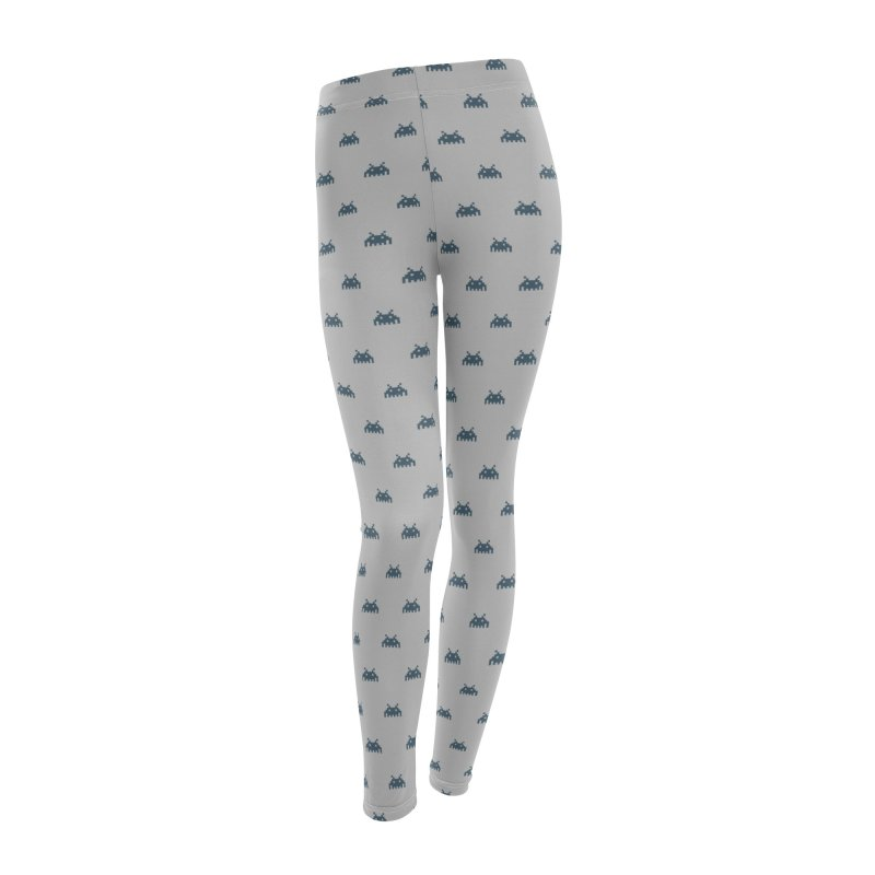 Alien Motif Pattern Women's Leggings Bottoms by Mr Loco Motif