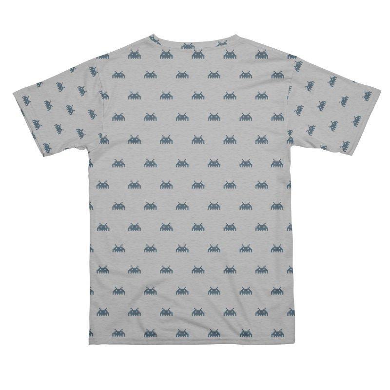 Alien Motif Pattern Men's Cut & Sew by Mr Loco Motif