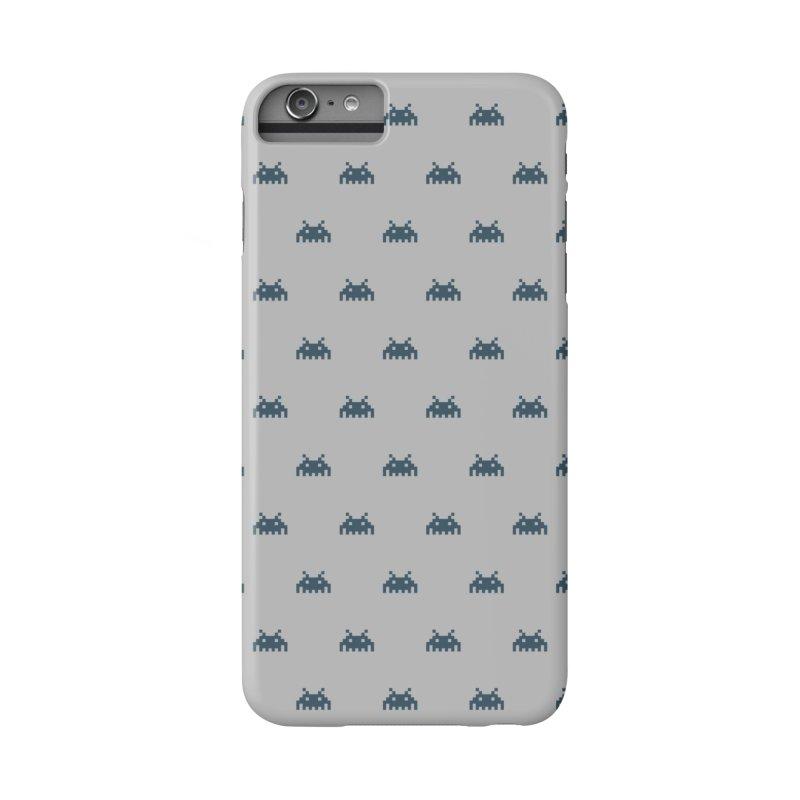 Alien Motif Pattern Accessories Phone Case by Mr Loco Motif