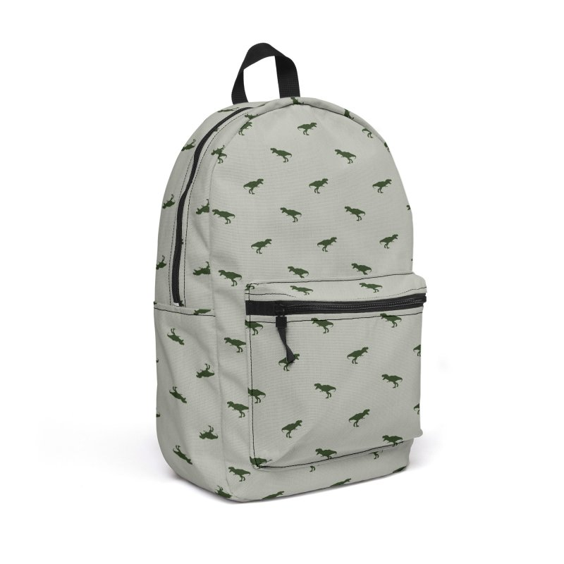 Rex Motif Pattern Accessories Backpack Bag by Mr Loco Motif - Artist Shop