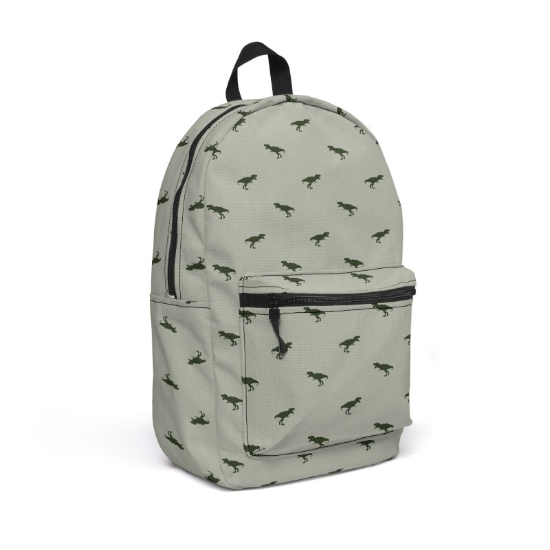Rex Motif Pattern Accessories Backpack Bag by Mr Loco Motif