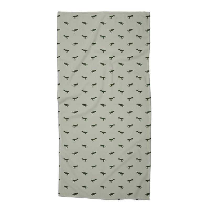 Rex Motif Pattern Accessories Beach Towel by Mr Loco Motif