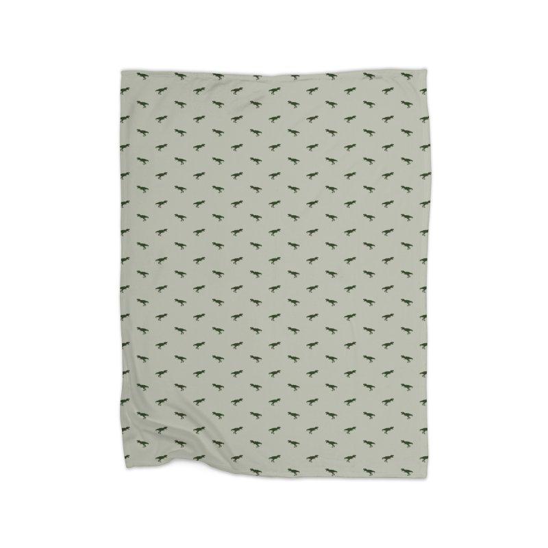 Rex Motif Pattern Home Fleece Blanket Blanket by Mr Loco Motif