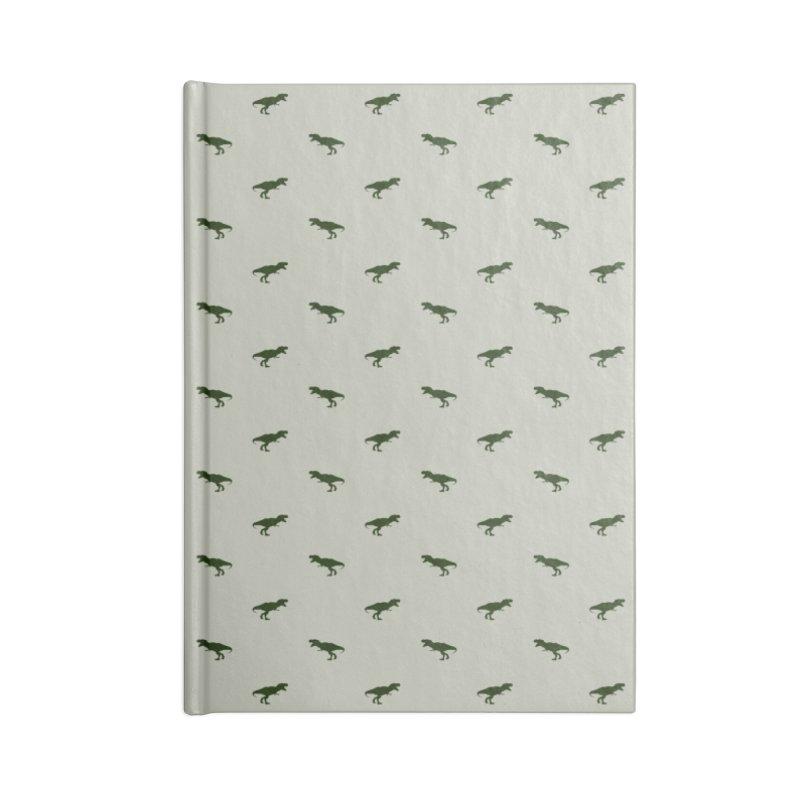 Rex Motif Pattern Accessories Blank Journal Notebook by Mr Loco Motif - Artist Shop