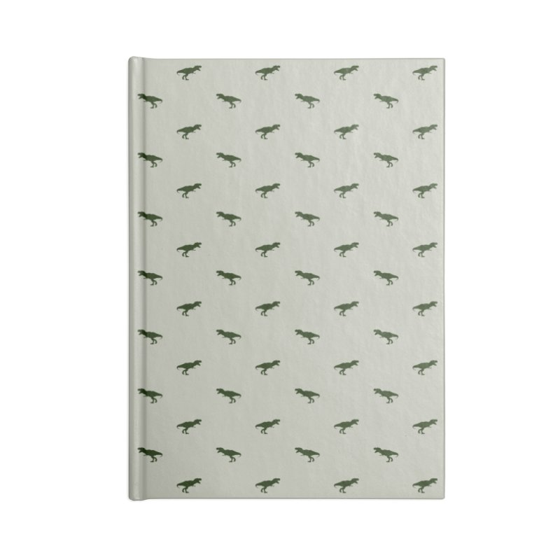 Rex Motif Pattern Accessories Lined Journal Notebook by Mr Loco Motif - Artist Shop