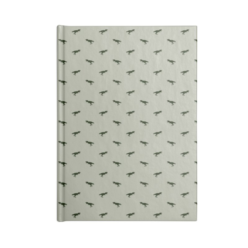 Rex Motif Pattern Accessories Lined Journal Notebook by Mr Loco Motif