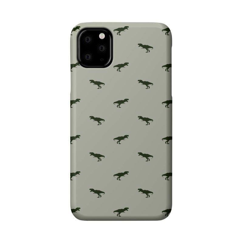 Rex Motif Pattern Accessories Phone Case by Mr Loco Motif