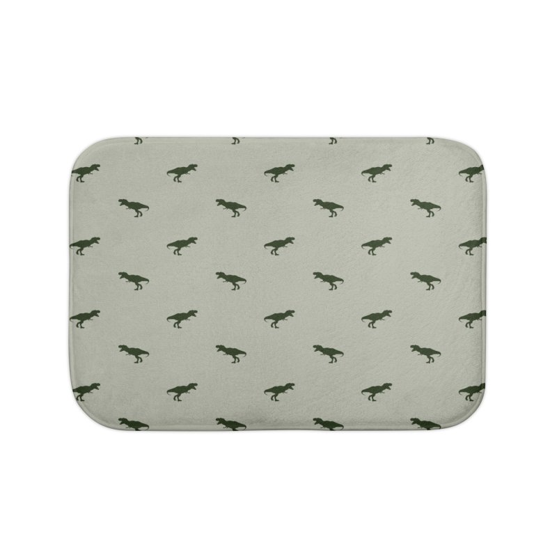 Rex Motif Pattern Home Bath Mat by Mr Loco Motif