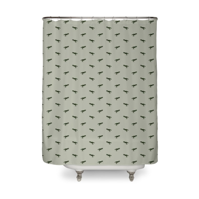 Rex Motif Pattern Home Shower Curtain by Mr Loco Motif