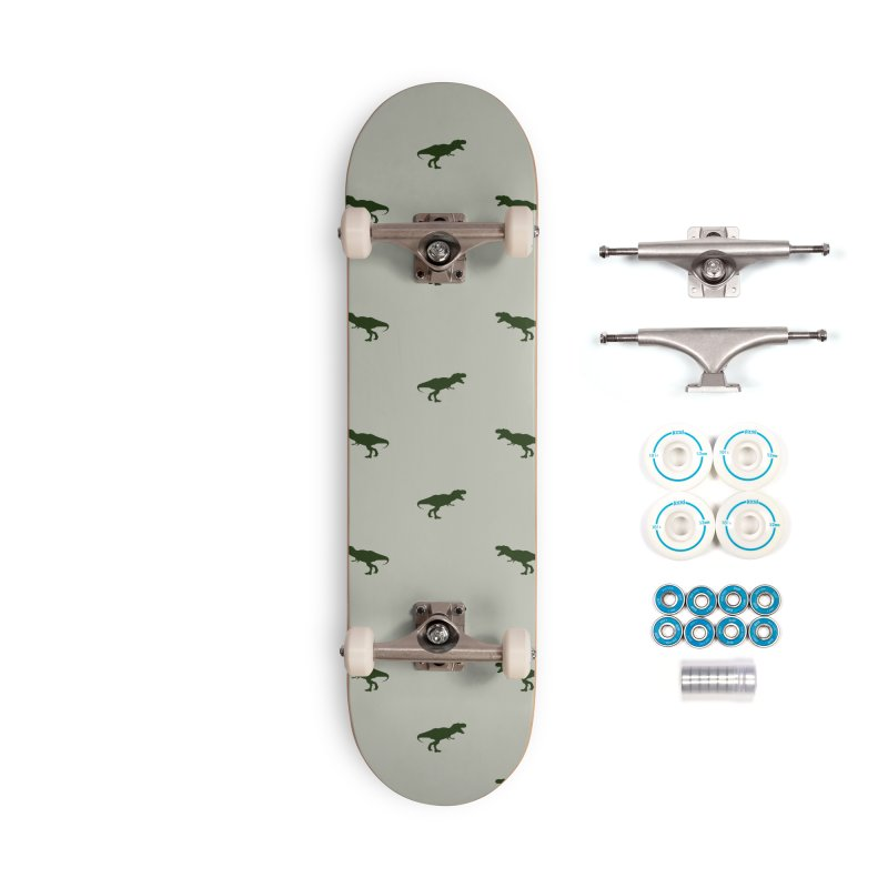 Rex Motif Pattern Accessories Complete - Basic Skateboard by Mr Loco Motif - Artist Shop