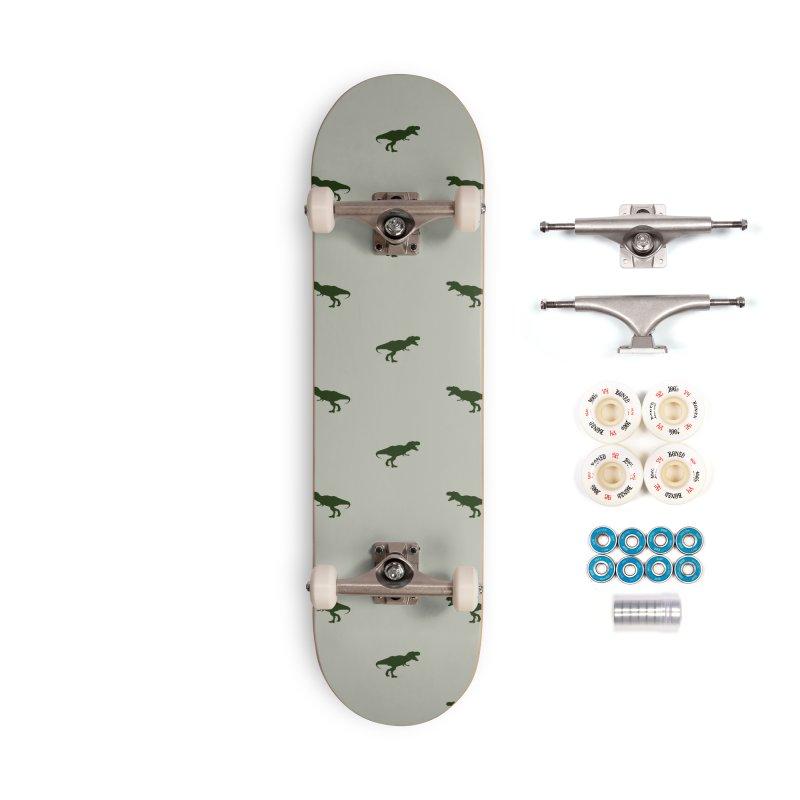 Rex Motif Pattern Accessories Complete - Premium Skateboard by Mr Loco Motif - Artist Shop
