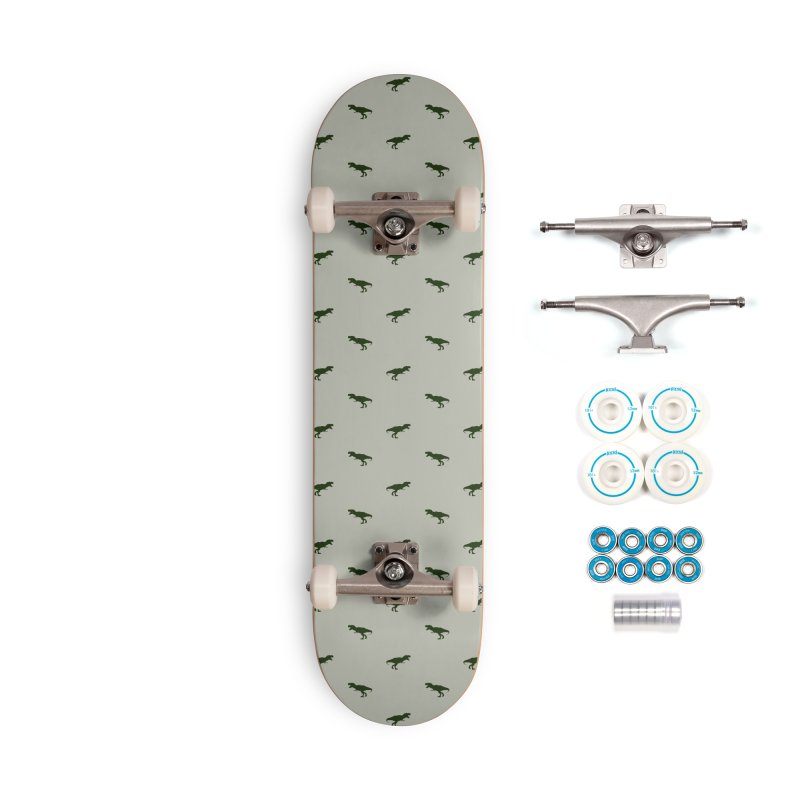 Rex Motif Pattern Accessories Complete - Basic Skateboard by Mr Loco Motif