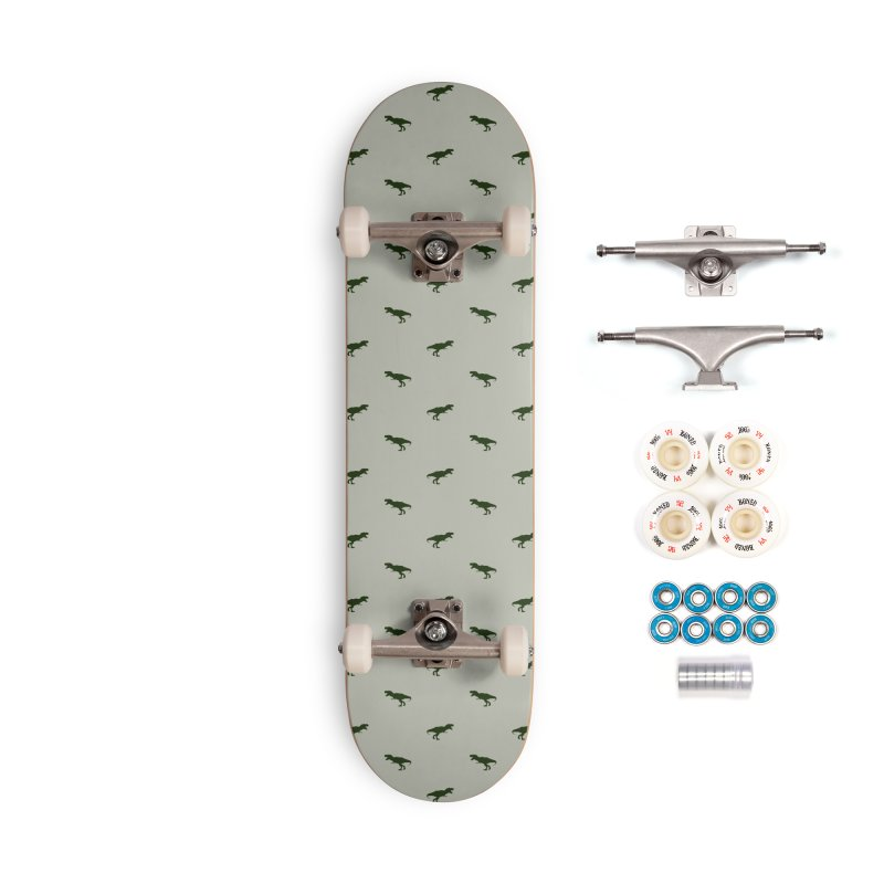 Rex Motif Pattern Accessories Complete - Premium Skateboard by Mr Loco Motif