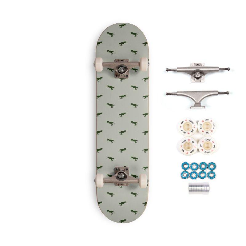 Rex Motif Pattern Accessories Skateboard by Mr Loco Motif