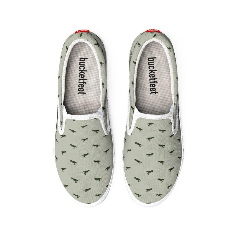 Rex Motif Pattern Men's Shoes by Mr Loco Motif