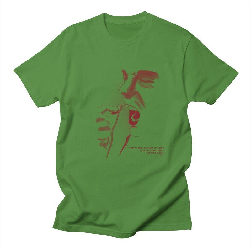 Pulling Teeth Men's T-Shirt by mrpsycho's Artist Shop