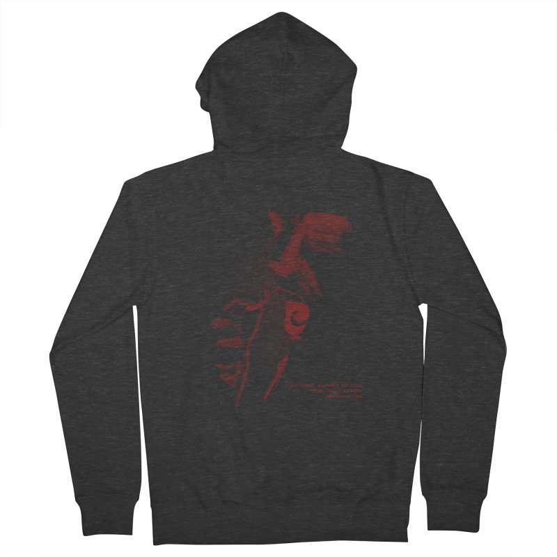 Pulling Teeth Men's French Terry Zip-Up Hoody by mrpsycho's Artist Shop