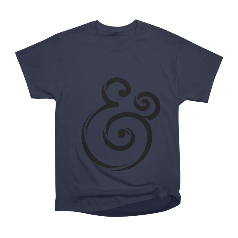 InclusivKind Ampersand Women's Heavyweight Unisex T-Shirt by mrrtist21's Artist Shop