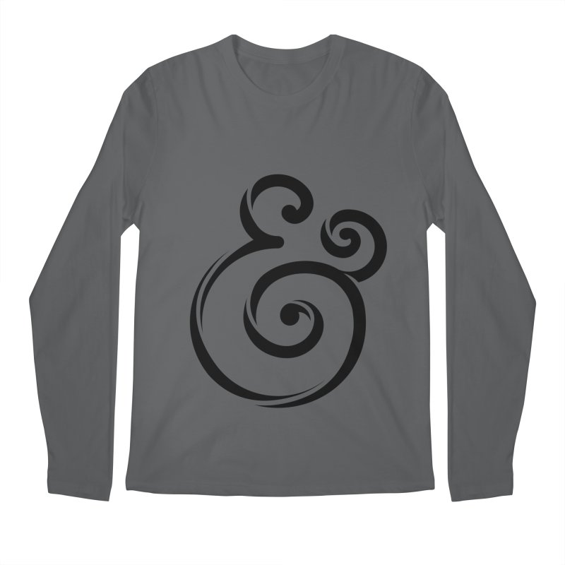 InclusivKind Ampersand Men's Longsleeve T-Shirt by mrrtist21's Artist Shop