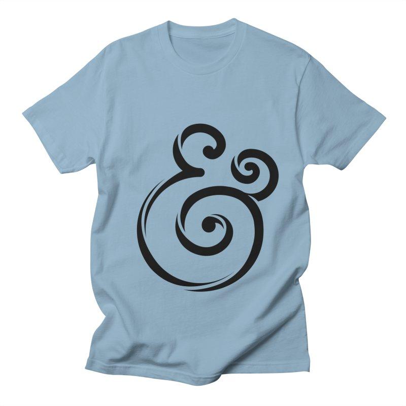 InclusivKind Ampersand Men's T-Shirt by mrrtist21's Artist Shop