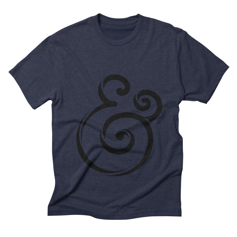 InclusivKind Ampersand Men's Triblend T-Shirt by mrrtist21's Artist Shop