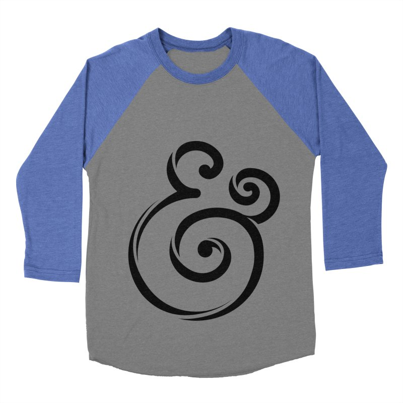 InclusivKind Ampersand Women's Baseball Triblend T-Shirt by mrrtist21's Artist Shop