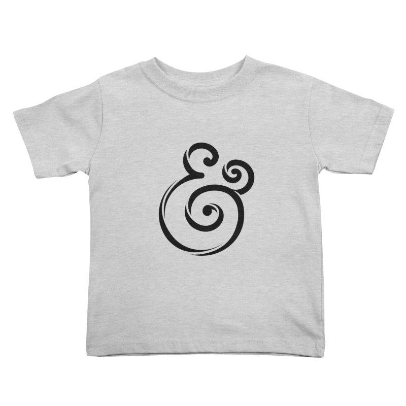 InclusivKind Ampersand Kids Toddler T-Shirt by mrrtist21's Artist Shop