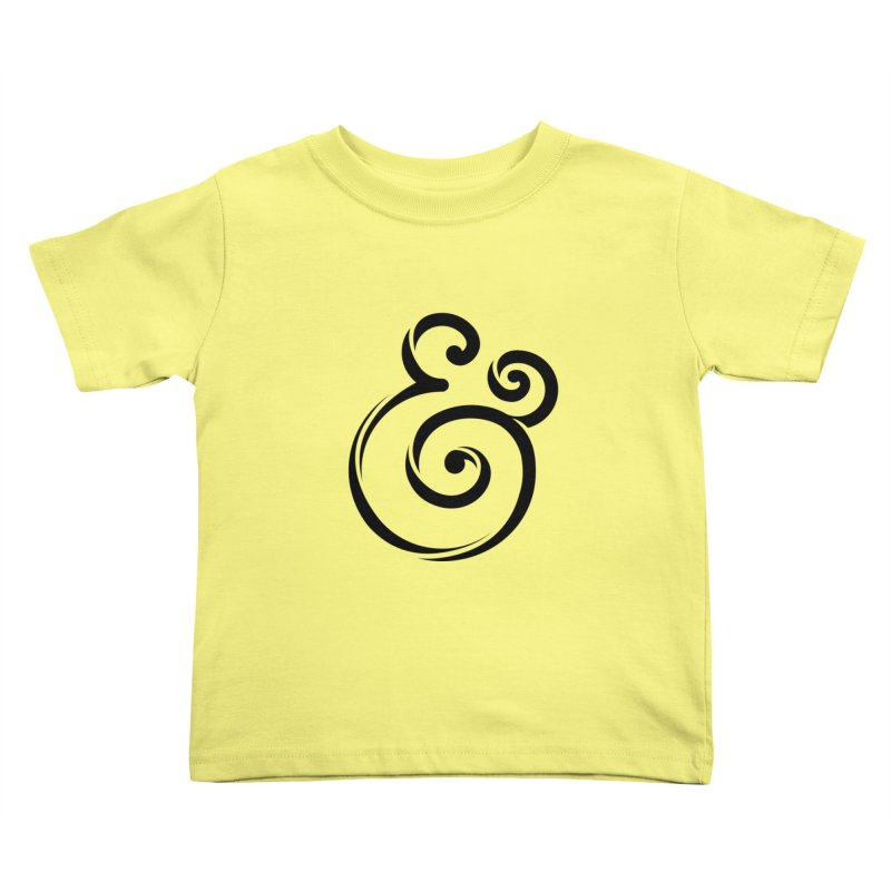 InclusivKind Ampersand Kids Toddler T-Shirt by mrrtist21's Artist Shop