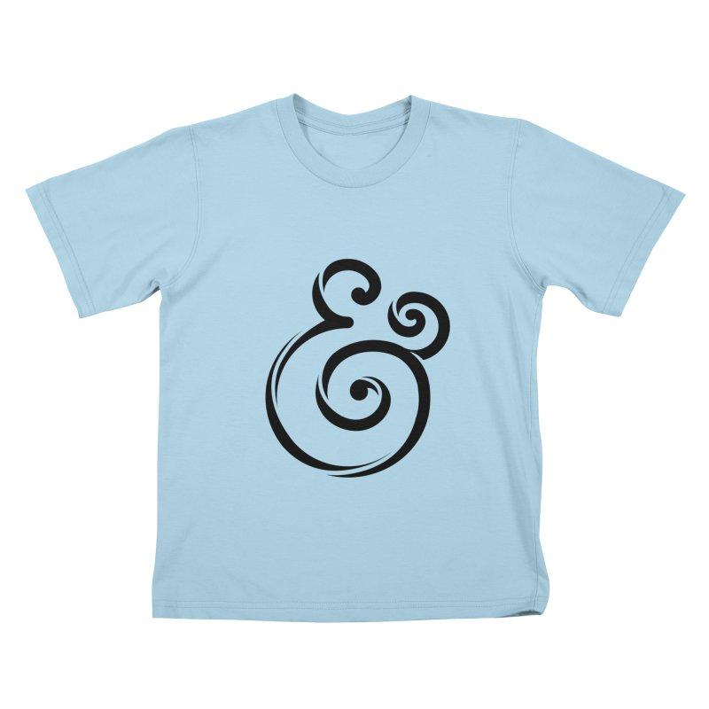 InclusivKind Ampersand Kids T-Shirt by mrrtist21's Artist Shop