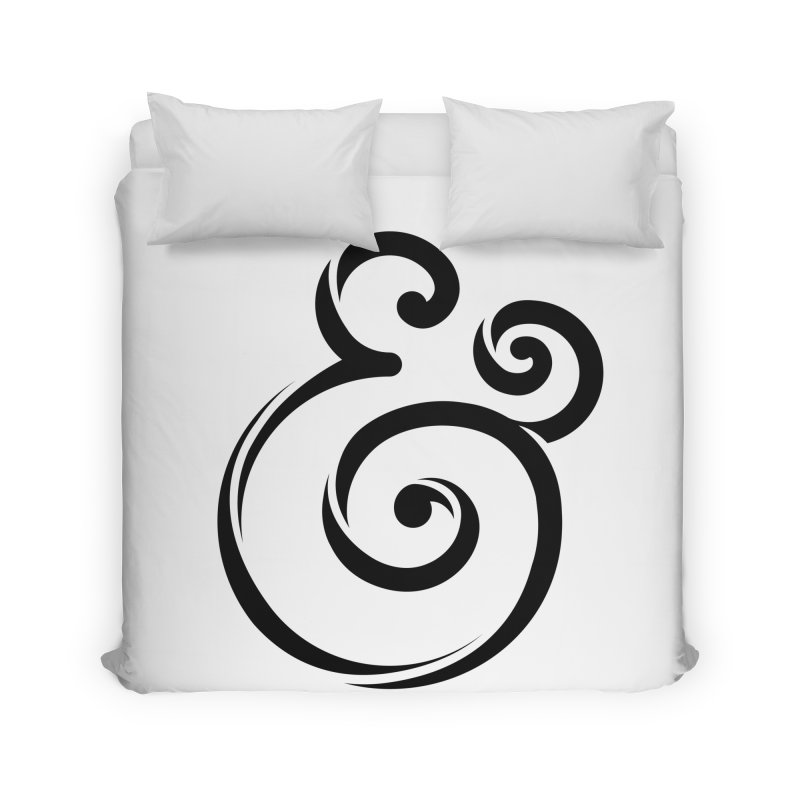 InclusivKind Ampersand Home Duvet by mrrtist21's Artist Shop
