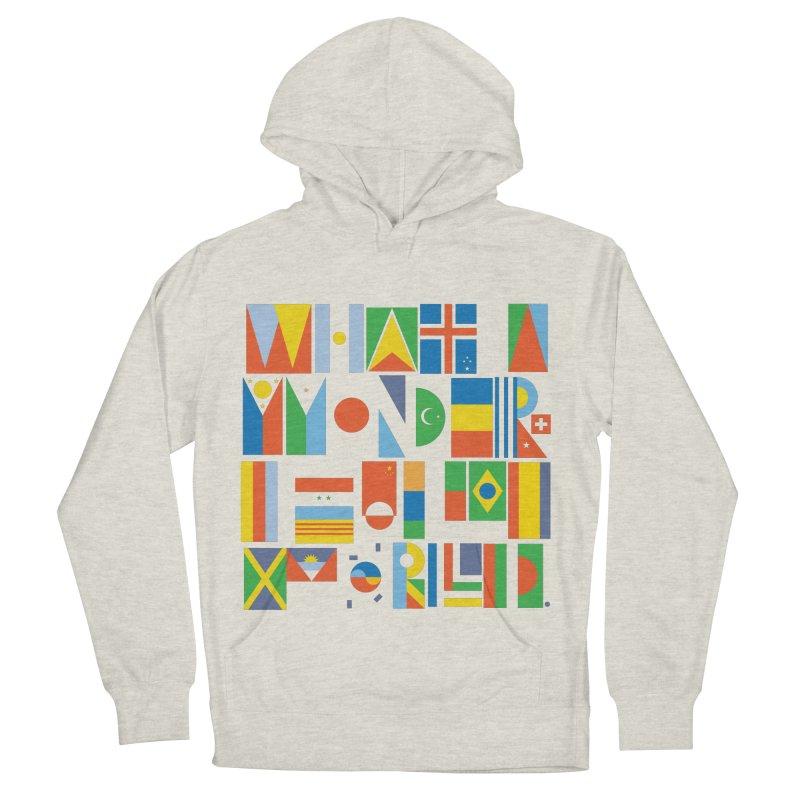 What A Wonderful World II Men's Pullover Hoody by mrrtist21's Artist Shop