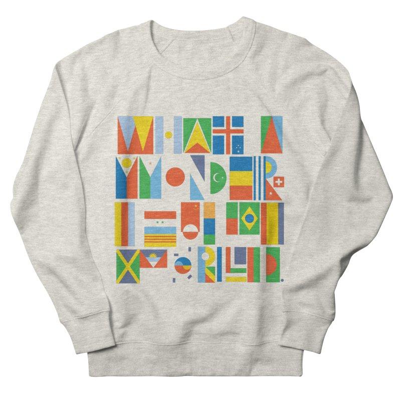 What A Wonderful World II Women's Sweatshirt by mrrtist21's Artist Shop