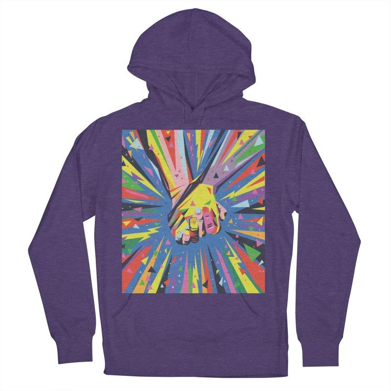 Band Together - Pride Men's Pullover Hoody by mrrtist21's Artist Shop