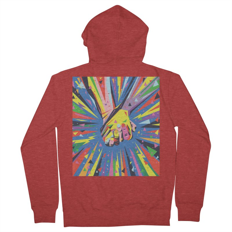 Band Together - Pride Women's Zip-Up Hoody by mrrtist21's Artist Shop